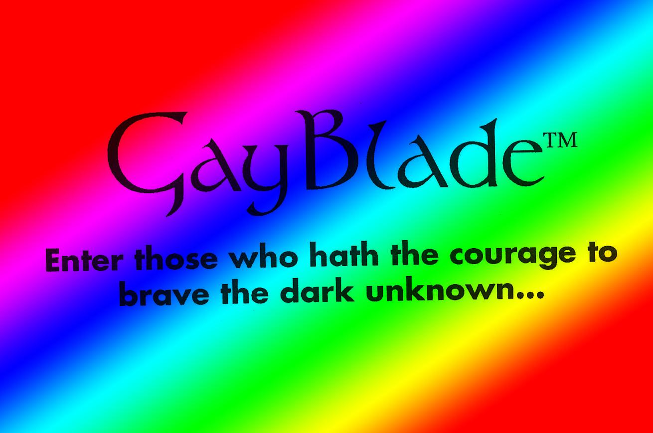 Gayblade